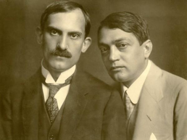 Babits Mihály és Ady Endre, 1917